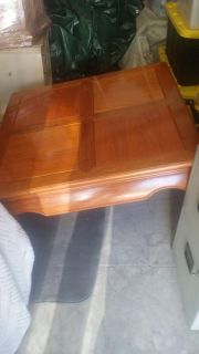 Solid Wood Maple Coffee Table