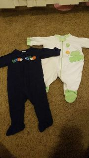 Size 3-6 months sleepers