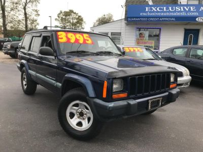 2000 Jeep Cherokee Sport (Patriot Blue Pearl)