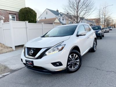 2015 Nissan Murano AWD 4dr SL (Pearl White)