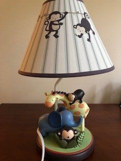 Baby/Toddler Zoo Lamp