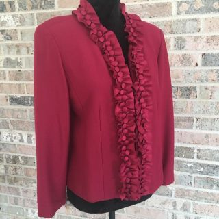 Cold Water Creek Blazer w/Silk Detail