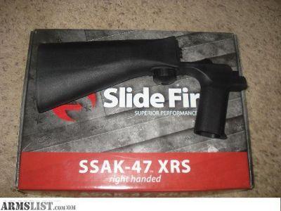 For Sale: Slidefire SSAK-47 bumpstock