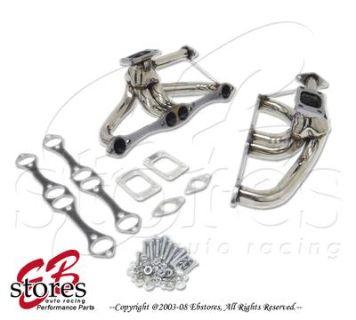 Buy Header Small Block Chevy SBC Twin Turbo 350 305 88-97 motorcycle in La Puente, California, US, for US $139.95