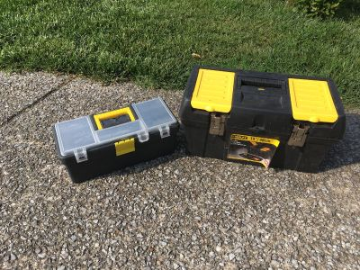 2 Tool Boxes