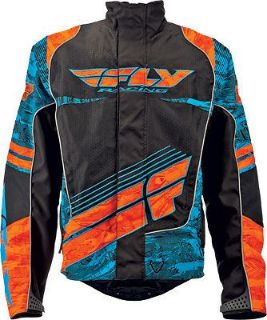 Find FLY Racing SNX Wild Snowmobile Jacket Blue/Orange motorcycle in Holland, Michigan, United States, for US $179.96