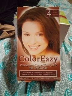 Color eazy hair color light brown 4