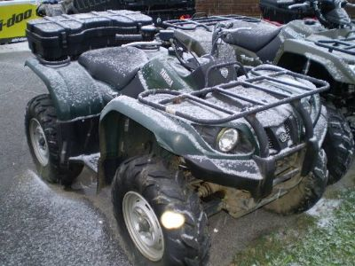 2007 Yamaha Grizzly 400 Auto. 4x4 Utility ATVs Lancaster, NH
