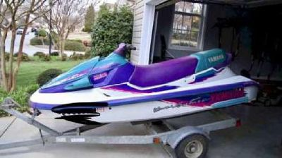 1996 Yamaha Waveventure 1100 with New 2016 Venture Trailer