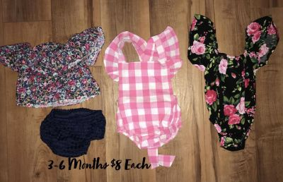 BABY GIRL CLOTHES DIFF $$ ASK