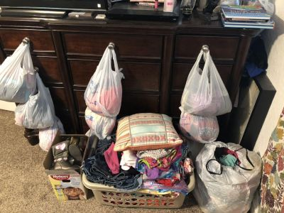 Lots of clothing items!