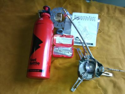 MSR XGK EX Extreme Condition Stove with 1x fuel bottle