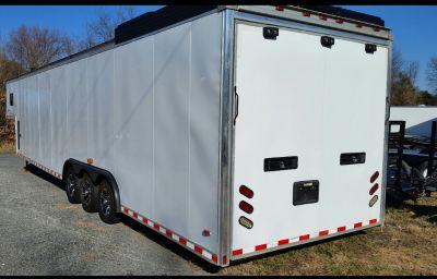 42 foot haulmark gooseneck race trailer.