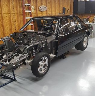 86 mustang Light weight