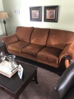 sofa of a 3 pc. set