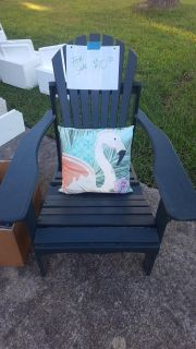 Solid wood outdoor chair
