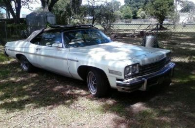 Sell 1975 Buick LaSabre Convertible .400 Orignal Buick Motor motorcycle in Tampa, Florida, United States