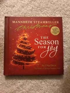 Manheim Steamroller The Season For Joy book and cd