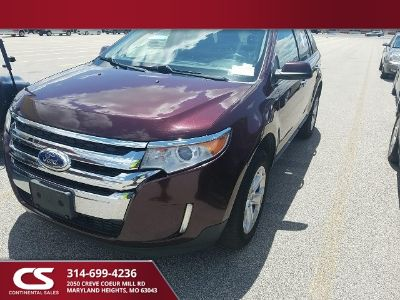 2011 Ford Edge SEL (Bordeaux Reserve Red Metallic)