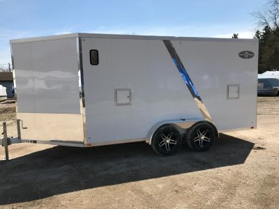 2017 Yacht Club Sport Haven AVD1970T7 Equipment Trailer Trailers Coloma, MI