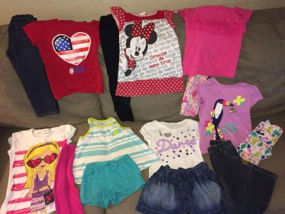 Size 5 Mixed Lot of Girls Clothes