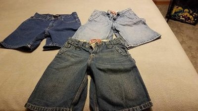 3 pairs of Jean's size 8