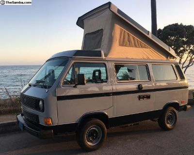 Vanagon Westfalia restored in Cal NEW paint seats