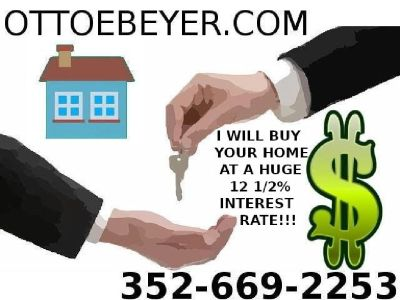 I WILL BUY YOUR HOME!!!!!! (Citrus, Marion, Sumter & Lake Counties)