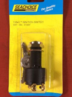 Sell IGNITION SWITCH INBOARD BOAT MARINE OFF ON START 3 POSITION SEACHOICE 11641 motorcycle in Merritt Island, Florida, United States, for US $20.95