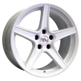 "Purchase White Mustang Saleen Wheels 18x9 & 18x10 inch 18"" 1994-2004 Rims 1995 2000 motorcycle in Katy, Texas, US, for US $399.00"