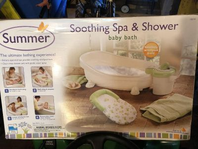 Soothing Spa & Shower Baby Bath