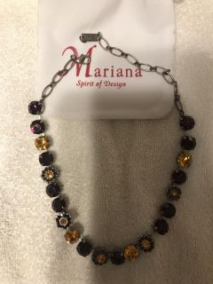 Sterling silver Marianna necklace