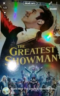 Brand new The greatest showman movie