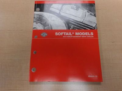 Sell 2012 HARLEY DAVIDSON SOFTAIL PARTS CATALOG 99455-12 motorcycle in Newnan, Georgia, United States, for US $30.00
