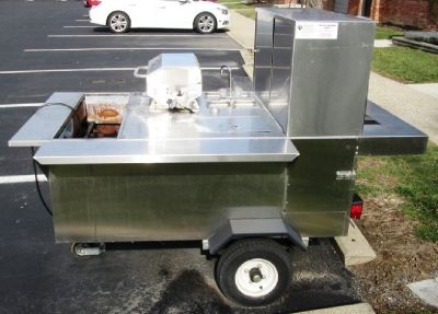 2014 Big Dog Hot Dog Trailer RTR# 7013494-01
