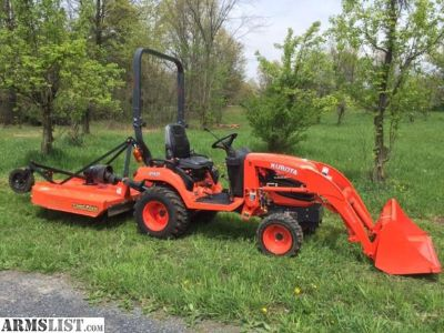 For Sale: Diesel Compact 4WD Kubota BX2660 Tractor w/mower and loader