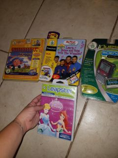 Lot of Leap Frog (3 New)