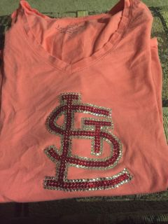 Faded Glory xxl blinged our St. Cardinals shirt