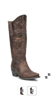 Ladies snipped toe boots