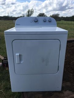 Whirlpool Dryer ONE MONTH USED