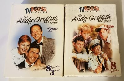 The Andy Griffith Show DVD's