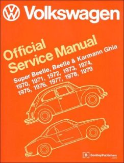 Sell VW S Beetle Beetle K Gia 70 to 79 Official Service Manual FREE PRIORITY SHIP motorcycle in Williamsburg, Massachusetts, United States, for US $49.00