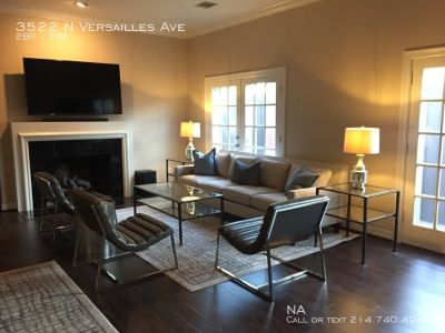 Fully Furnished Executive Corporate Home ★ Luxury Chic Highland Park ★ Oak Lawn Near It All