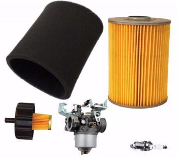 Buy YAMAHA G2 G9 G11 4 CYCLE 85-94 GAS GOLF CART TUNE UP KIT AIR FILTER CARBURETOR motorcycle in Lapeer, Michigan, United States, for US $62.16