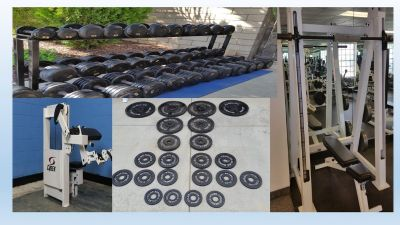 Gym equimpent weights