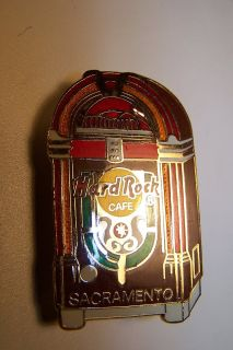 Vintage Hard Rock Cafe Pin (Sacramento) from 1972