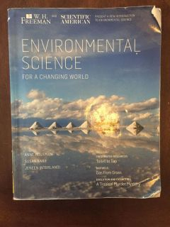 Environmental Science College Textbook