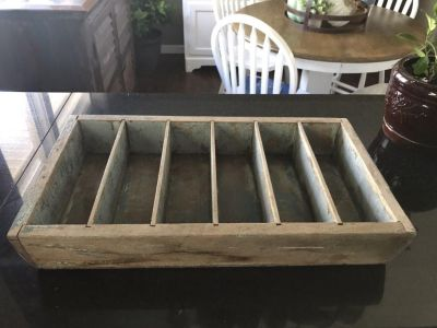 Farmhouse style chippy drawer