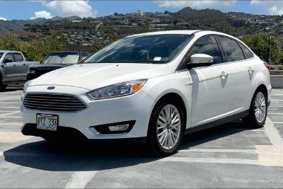 2018 Ford Focus Titanium (WHITE PLATINUM METALLIC TRI-COAT)