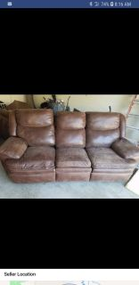 Free recliners sofa and love seat